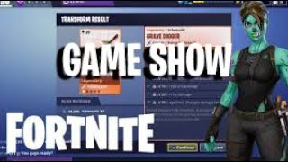 Fortnite save the world GAME SHOW!