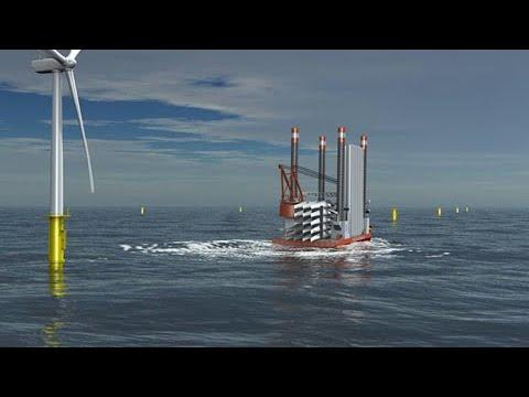 Voith Windcarrier Windpark Installation - Precise and safe maneuvering of vessels (EN)
