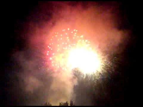 CBS Studios Fireworks Exhibit-July 4th 2010 Studio City