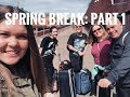 Spring Break with my family and best friend: Part 1 // AFS Exchange Year