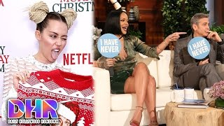Miley Cyrus Joins The Voice - Rihanna Plays