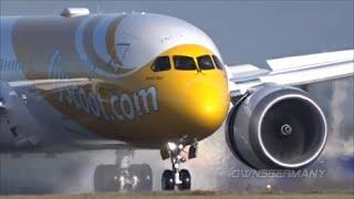 First Scoot Boeing 787-9 Dreamliner Full Test Flight @ KPAE Paine Field
