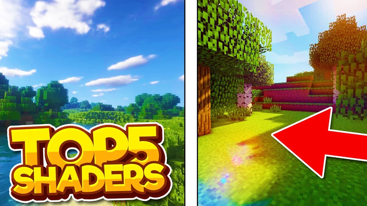 Mcpe Top 5 Best Shaders 2020 Mcpe 1 14 1 15 1 16 Mcpe Xbox One Ps4 Windows 10 Youtube