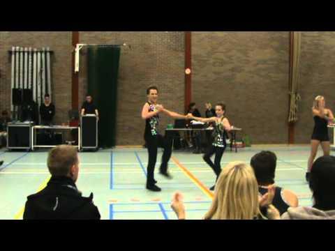 Bianca Jacobs - Ben Stassen, Wedstrijd Kortessem 24.10.2010