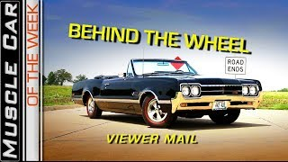 Letters And Stuff Behind The Wheel:  Muscle Car Of The Week Episode 254 V8TV