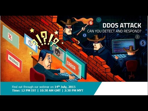 DDoS Attack  – Can u detect and respond