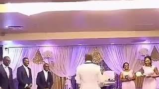اجمل لحطات في الزفاف بنكهة افريقية رومانسية