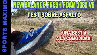 New Balance Fresh Foam M1080v8 AmarilloNegro   Marathonia