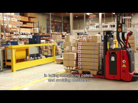 Innovation by Daher: pallets that are -almost- moving by themselves!