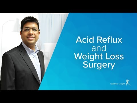 Reflux And Weight Loss