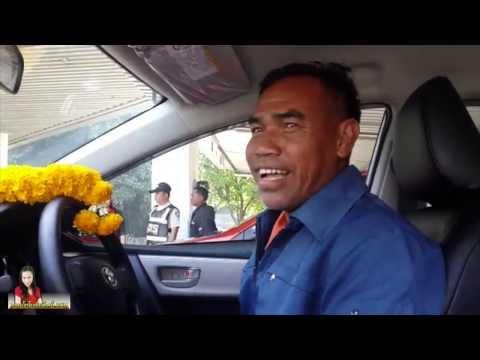 ลูกค้าแท็กซี่ป้ายแดง ทรายโตโยต้าแท็กซี่ 16/01/2058