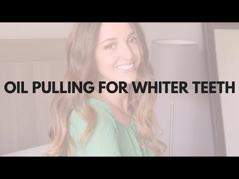 Oil Pulling Routine for Whiter Teeth! (ft. Banyan Botanicals Daily Swish Oil)