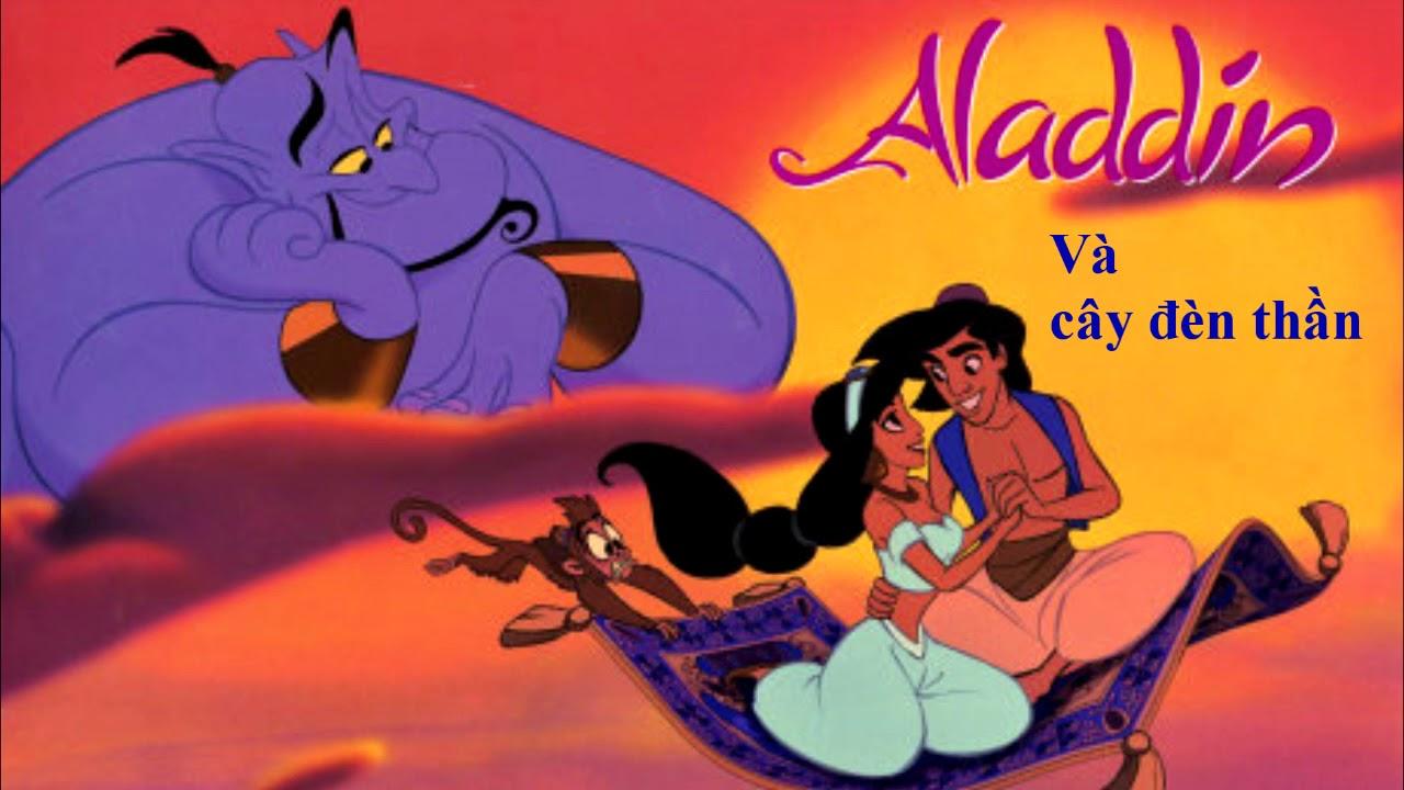 """Truyện """" Aladin và cây đèn thần""""."""