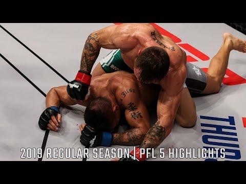 Lance Palmer, Natan Schulte Score Impressive Wins   PFL 5 2019 Full Fight Highlights