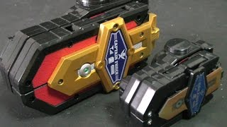 Power Rangers Super Megaforce Morpher Toys 파워레인저 캡틴포스 장난감