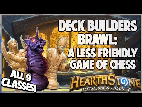 A Less Friendly Game Of Chess   Deck Builders Brawl   Hearthstone