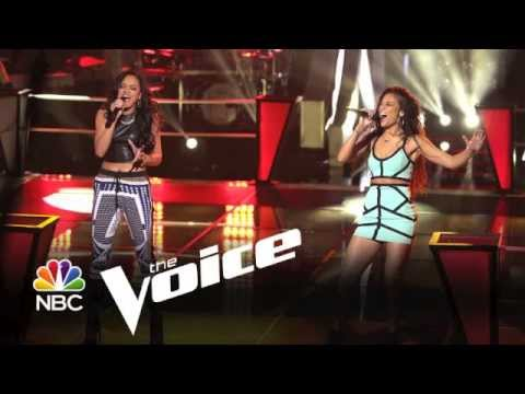 The Voice Give It To Me Right Melissa Jimenez & Brittnee Camelle
