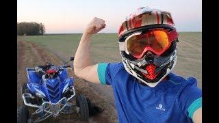 Nowe Moto, Rozwalony Samochód i Przebite Koło - Raptor 700 Quad Vlog