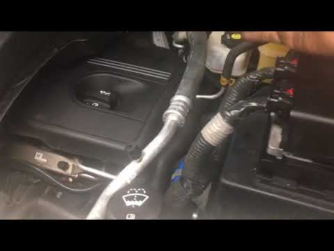Chevy equinox 2.4 thermostat change easy