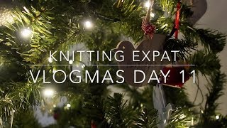 The Black Hole Of Wrapping! - Vlogmas Day 11 - Knitting Expat