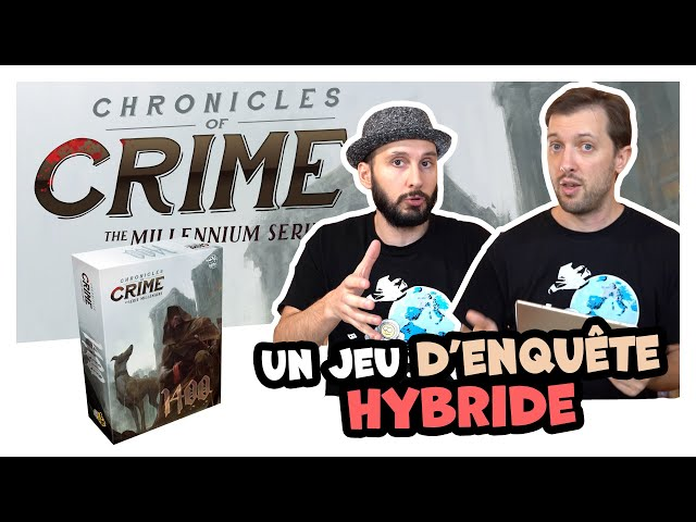Chronicle of crimes 1400, le retour du jeu d'enquête hybride