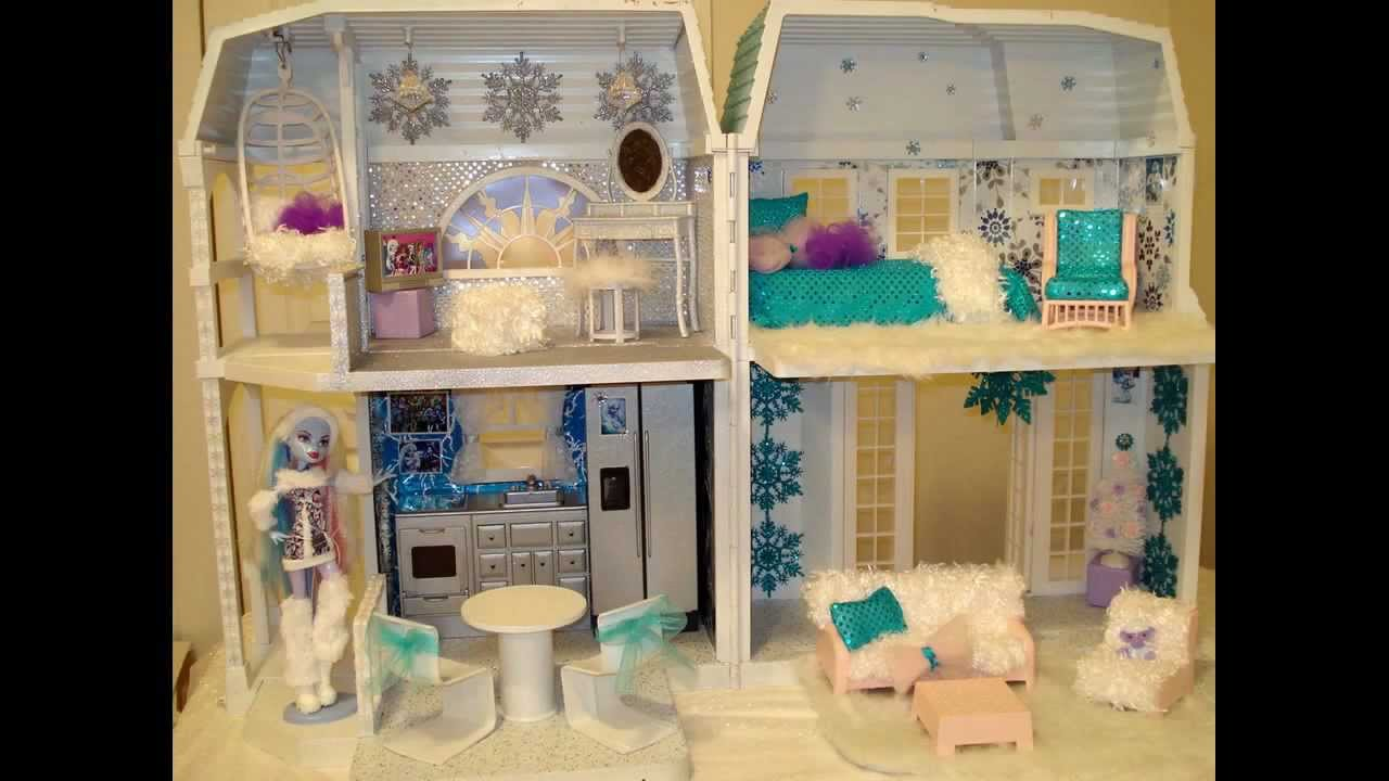 Monster High Abbey Bominable House Custom Made More To