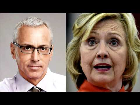 "Dr. Drew ""Gravely Concerned"" About Hillary Clinton"