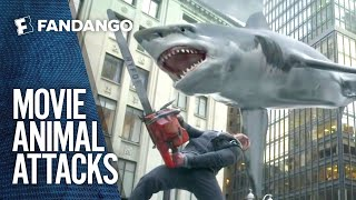 Craziest Animal Attacks in Movies | Movieclips