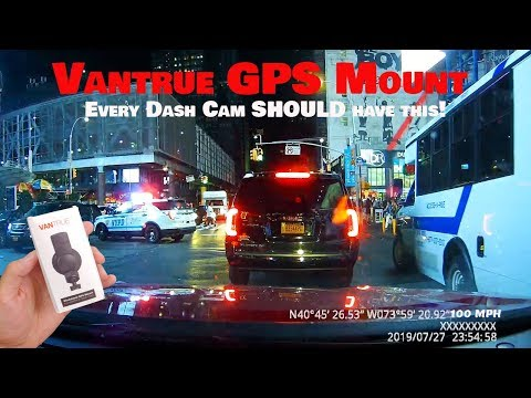 Vantrue GPS Mount Review : Drive Safer With This Add-on