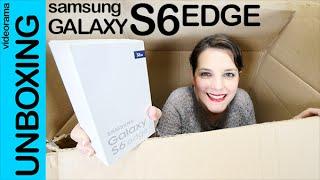 Samsung Galaxy S6 Edge unboxing en español