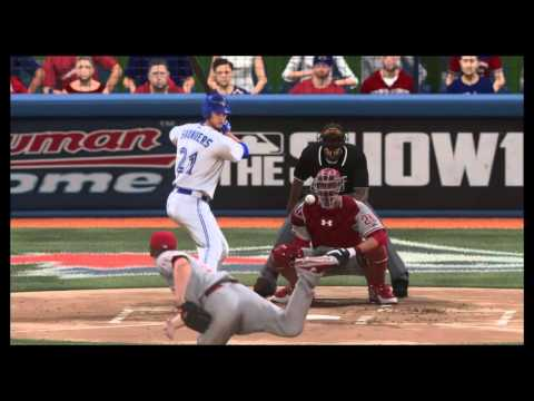 Michael Saunders and Russell Martin go back-to-back! (MLB The Show 16)