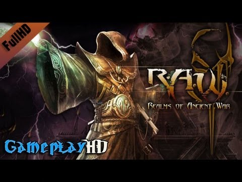 R.A.W.: Realms of Ancient War Gameplay (PC HD)  