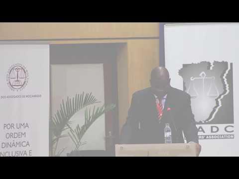 Discurso do Presidente da SADC Lawyers Association  James Banda