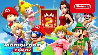 Mario Kart Tour - 2nd Anniversary Tour Trailer