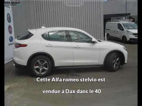 Alfa romeo stelvio occasion visible à Dax présentée par Milano automobiles dax