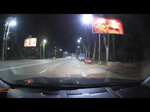Eplutus D08 - видеорегистратор зеркало (образец видео ночью)