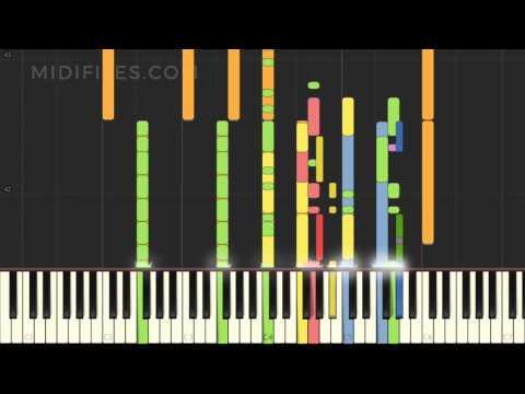 City Lights / Blanche (MIDI Karaoke instrumental version tutorial)