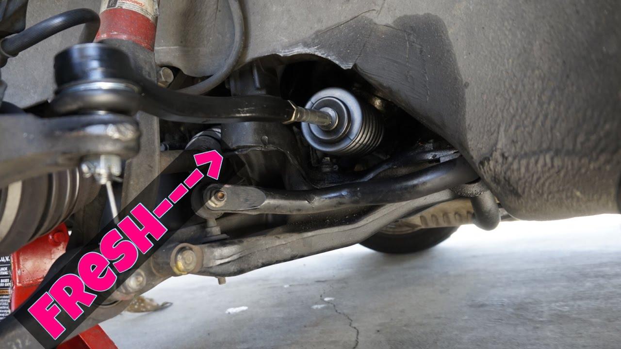 2000 Acura Integra Tie Rod Amp Bellow Boot Install Youtube
