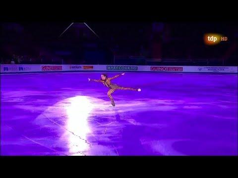 Alina Zagitova European Championships 2018 EX K
