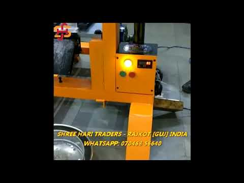 SHREE HARI RAJKOT HEAVY DUTY CAMPHOR TABLET MAKING MACHINE