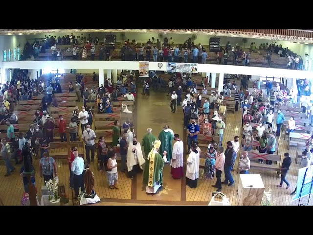 Santa Missa Posse Padre Natalício (23° Terceiro Domingo do Tempo Comum) - 05/09/2021 às 19:30h