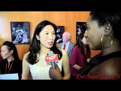 Jodi Long at the 2013 LA Asian Pacific Film Festival LAAPFF  @xoJodiLong