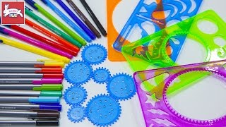 Learn Colors with Spiral Art Design Fun and Creative for Kids