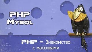 PHP знакомство с массивами, ассоциативный массив, многомерный массив, php работа с массивами
