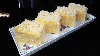 Wattekuchen/ Vanille trifft Kokos/ Tassenkuchen/ Blechkuchen