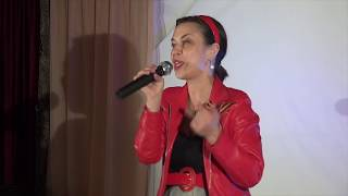 "Ксенией Рубан - песня  про Москву - ""TV SHANS"""