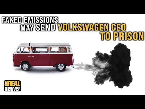 Faked Emissions May Send Volkswagen CEO to Prison