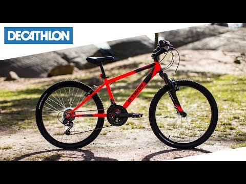 Mountainbike Bambino Rockrider 500 Btwin Decathlon Italia Youtube