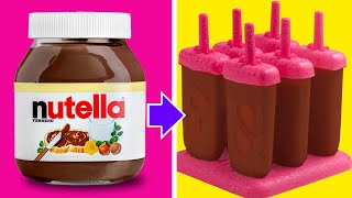 14 SIMPLE IDEAS WITH NUTELLA