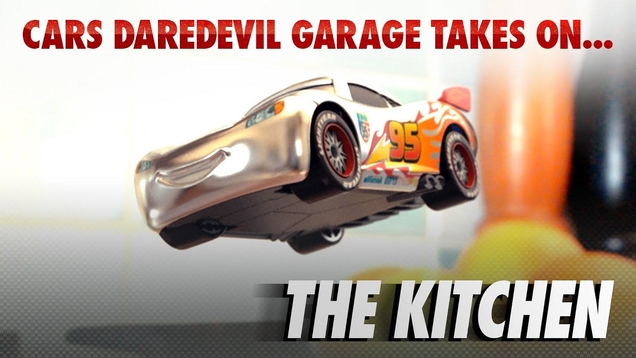 Cars silver racer poster 2 - Disney Pixar Cars The Die Cast Series Ep 3 Takes On The Kitchen Youtube